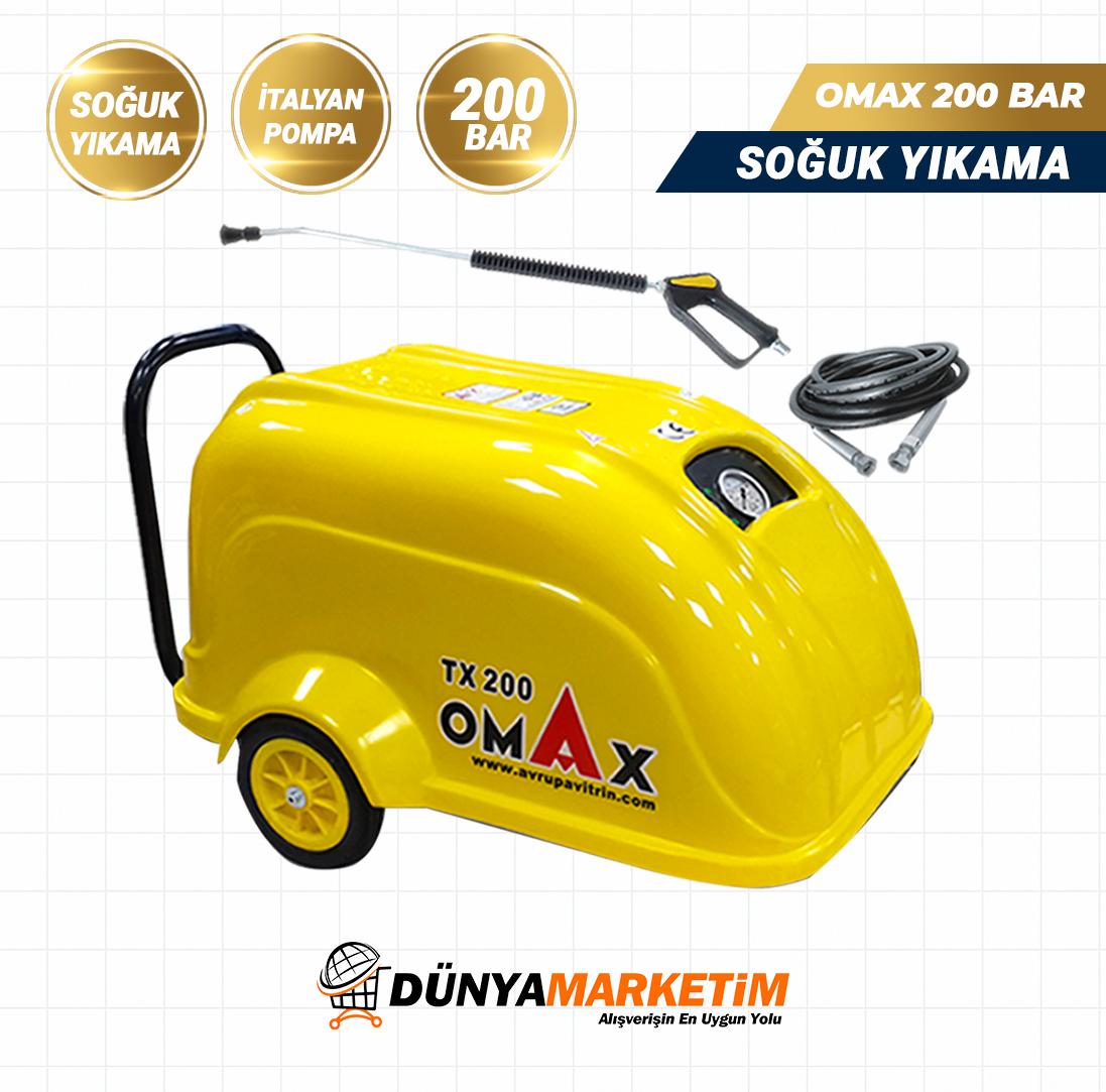 Omax Tx 200 Basincli Yikama Makinasi Italy Pompa Monofaze